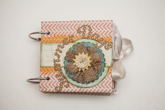 make a mini album from scratch:: a scrapbook tutorial by cassandra cyr @ shimelle.com