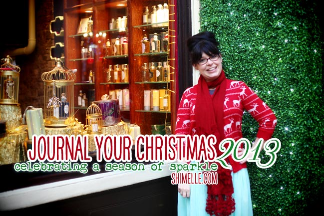 Journal your Christmas online scrapbooking class by Shimelle Laine @ shimelle.com