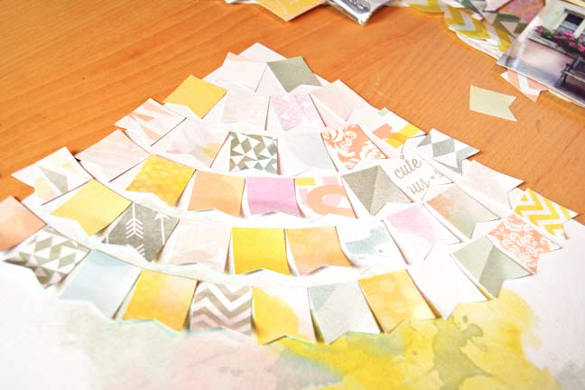 showcasing patterned paper :: a scrapbooking tutorial by paige evans @ shimelle.com