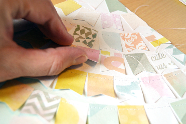 showcasing patterned paper:: a scrapbooking tutorial by paige evans @ shimelle.com