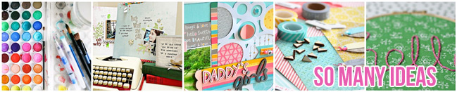 So Many Scrapbooking Ideas :: A Collection of Articles from shimelle.com