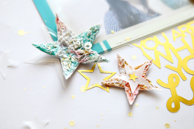the tissue paper effect:: a scrapbooking tutorial by jina jean @ shimelle.com