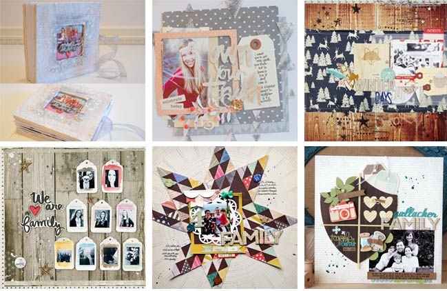inspired scrapbooking ideas @ shimelle.com