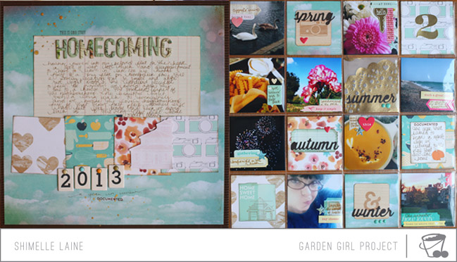 scrapbook pages by shimelle laine @ shimelle.com