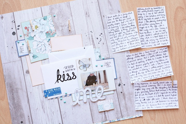 Getting Personal:: a scrapbook page by kirsty smith @ shimelle.com