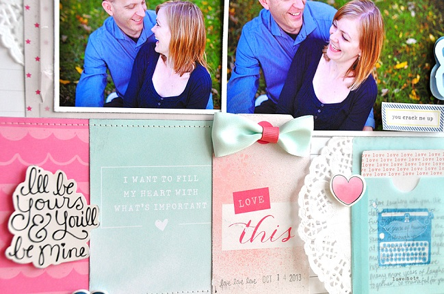scrapbooking your significant other by jill cornell @ shimelle.com