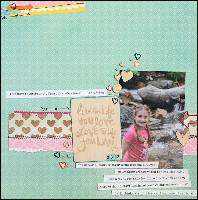 five ideas from may flaum with the february 2014 best of both worlds kit @ shimelle.com