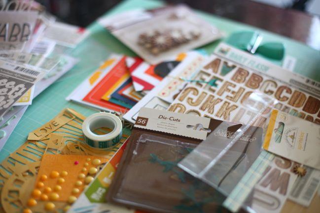 scrapbook supplies - January 2014 Best of Both Worlds Kit @ shimelle.com