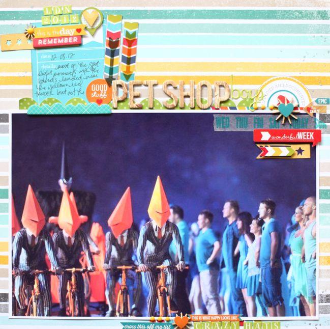 scrapbook page designs for larger photos by shimelle laine @ shimelle.com