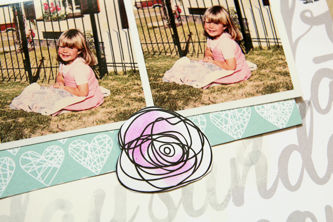 watercolour effects with stabilo pens:: a scrapbooking tutorial by lilith eekels @ shimelle.com