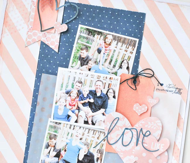 scrapbooking with mist or ink @ shimelle.com