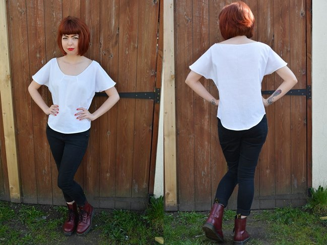 sewing with alice:: the shirt @ shimelle.com