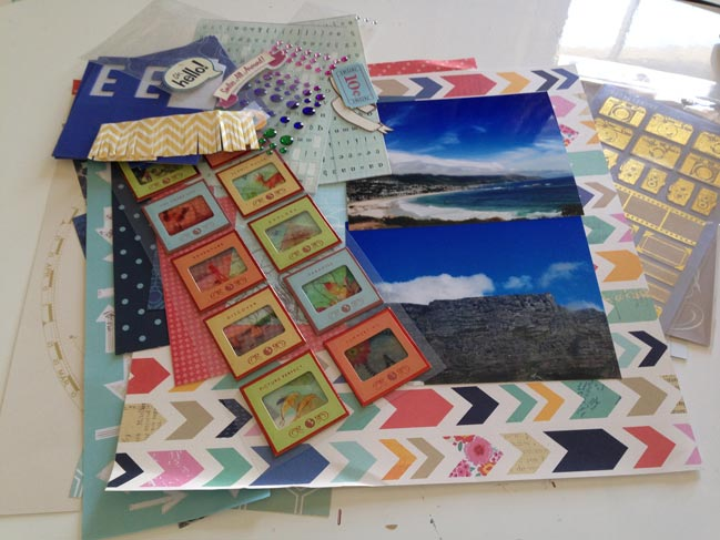 weekly scrapbook challenge:: journal about places by relly annett-baker @ shimelle.com