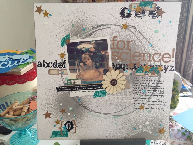 weekly scrapbook challenge:: scrapbook starting point by shimelle laine @ shimelle.com