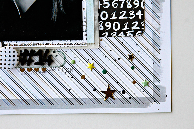 using supplies from the beauty aisle:: a scrapbooking tutorial by alissa fast @ shimelle.com