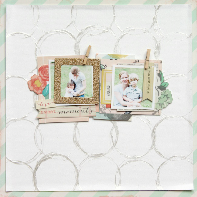 creating dimension using paint:: a scrapbooking tutorial by stephanie bryan @ shimelle.com