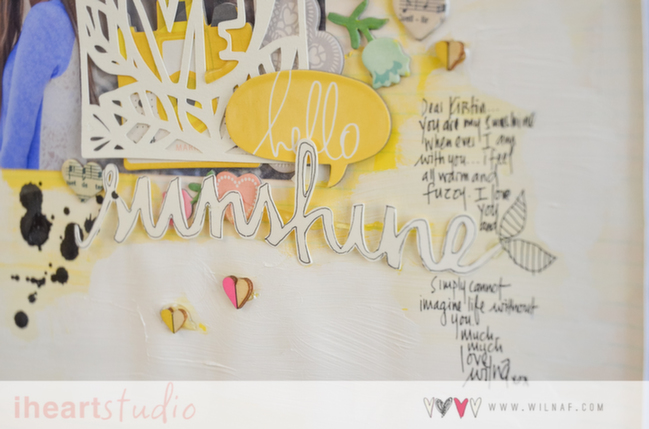 the art of layering:: a scrapbook tutorial by wilna furstenburg @ shimelle.com