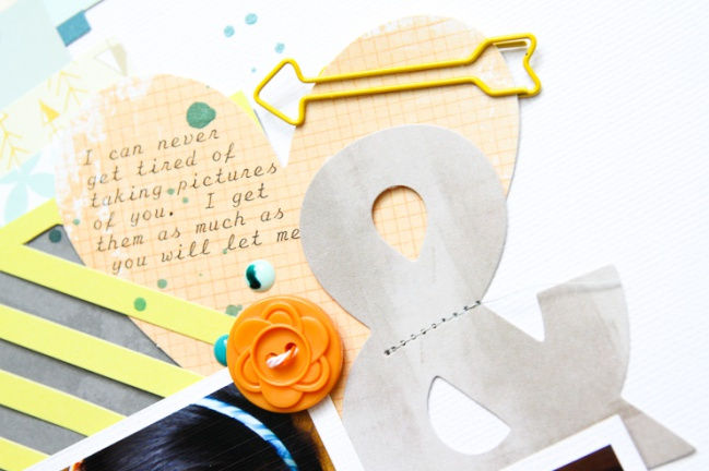 Scrapbook with die cuts @ shimelle.com