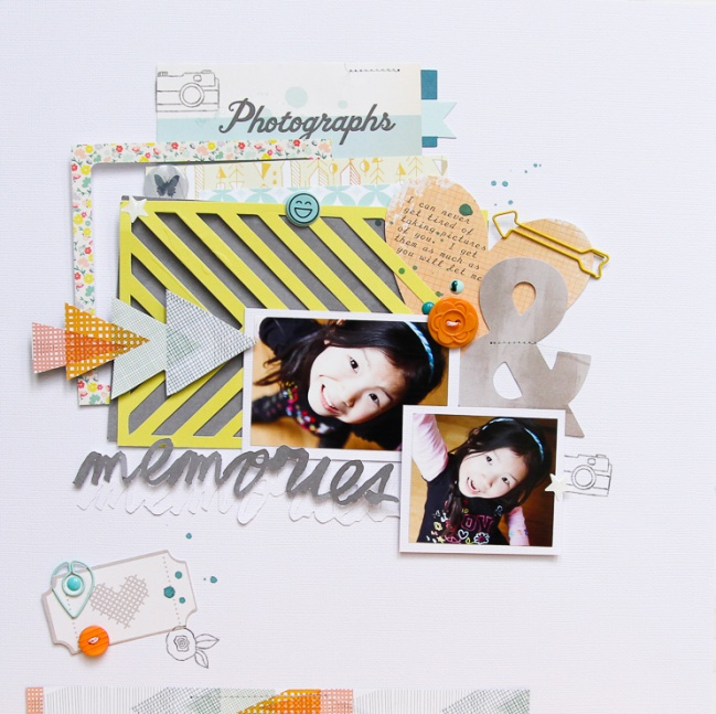 scrapbooking with die cuts @ shimelle.com