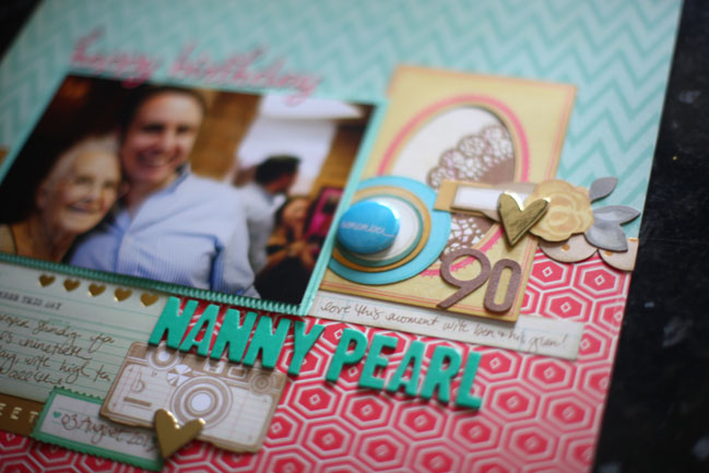 scrapbooking with die-cuts @ shimelle.com