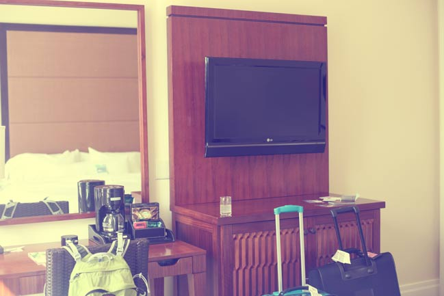 hotel television