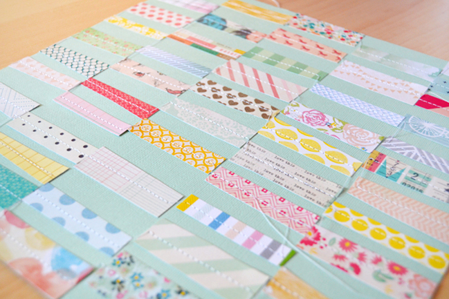 using that inspiration:: a scrapbook tutorial by paige evans @ shimelle.com
