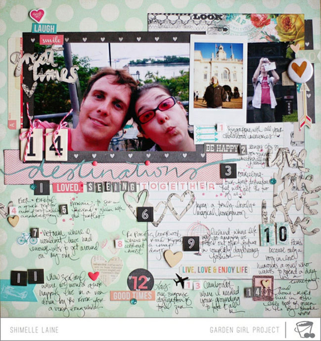 scrapbooking your significant other @ shimelle.com