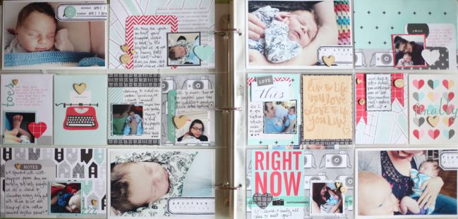 project life scrapbook pages by shimelle laine @ shimelle.com