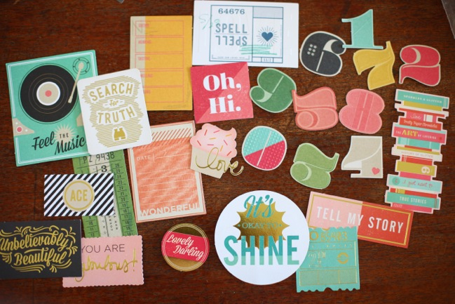 die cuts from the Shimelle collection by American Crafts @ shimelle.com