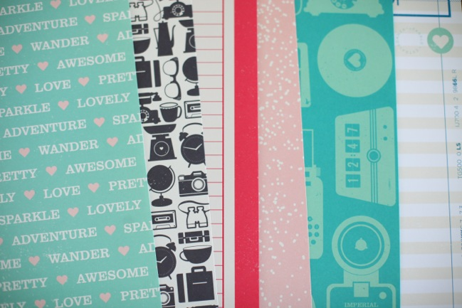 patterned papers from the Shimelle collection by American Crafts @ shimelle.com