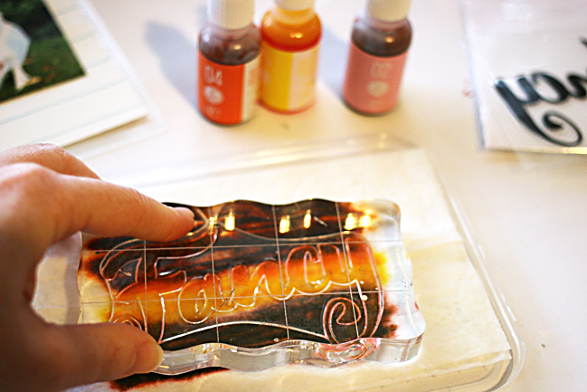 techniques with ink refillers:: a scrapbooking tutorial by natalie elphinstone @ shimelle.com