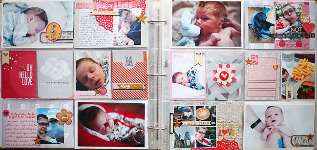 project life baby book pages by shimelle laine @ shimelle.com