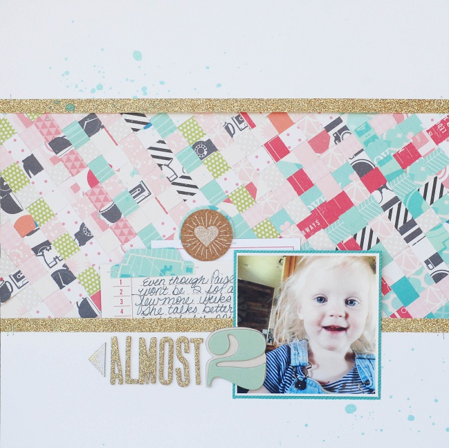 five ideas for scrabooking with shimelle patterned papers by Becki Adams  @ shimelle.com