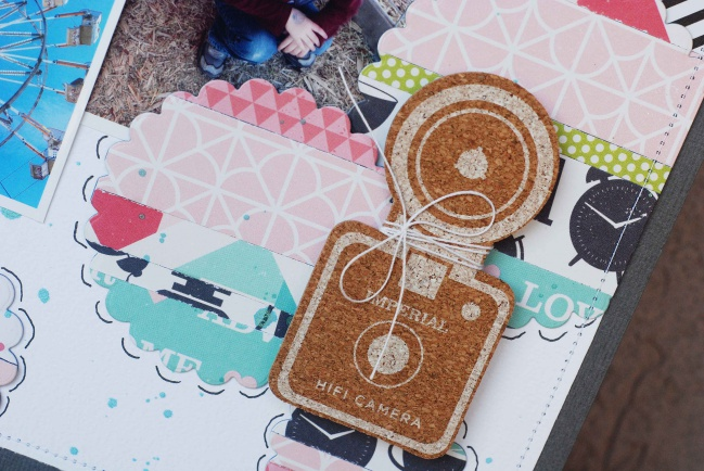 five ideas for scrapbooking with shimelle patterned papers by Becki Adams @ shimelle.com