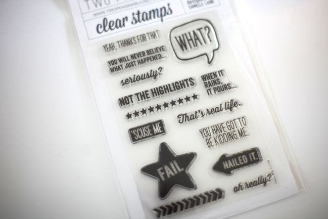 nailed it stamp set by shimelle for two peas in a bucket
