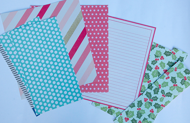 christmas papers: a scrapbooking tutorial by cara vincens @ shimelle.com