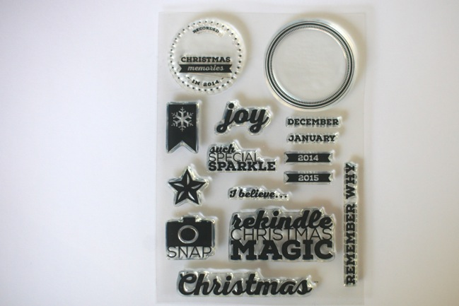 Journal your Christmas 2014 stamp set @ shimelle.com