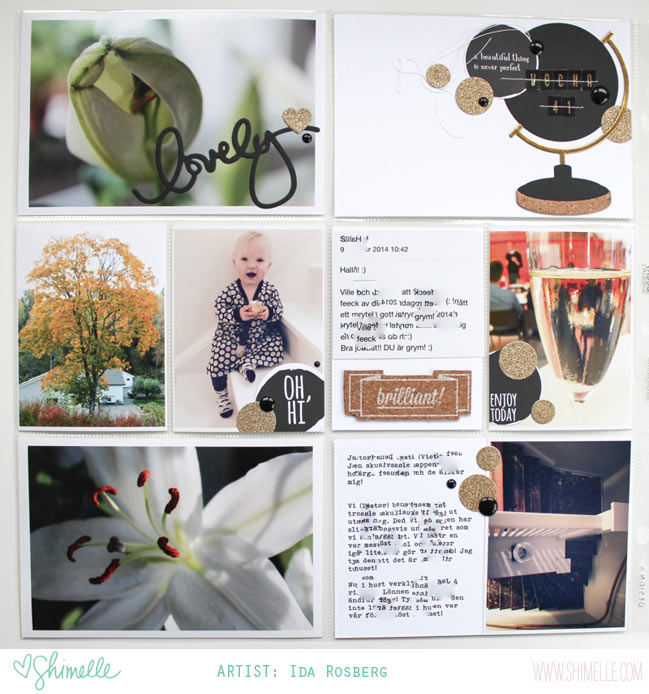 scrapbook page by Ida Rosberg @ shimelle.com