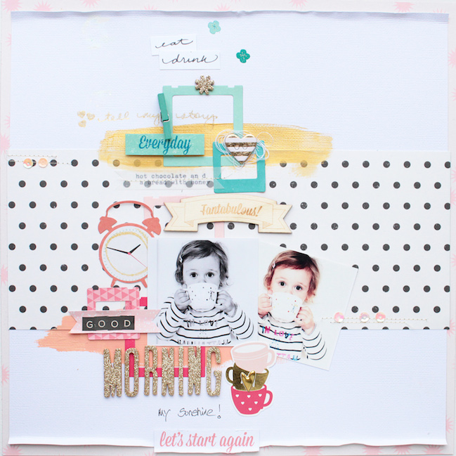 scrapbook page by steffi @ shimelle.com