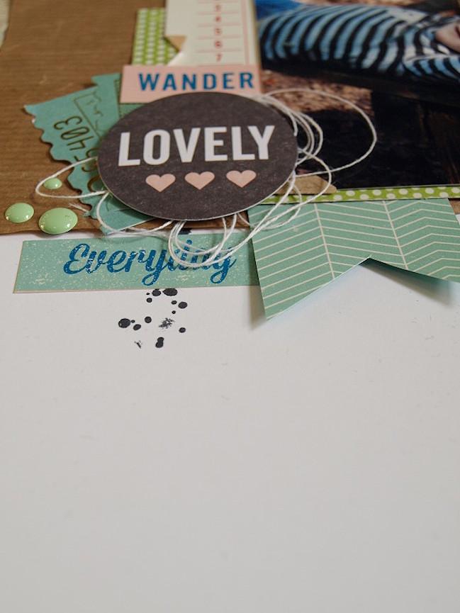 scrapbook page by jana @ shimelle.com