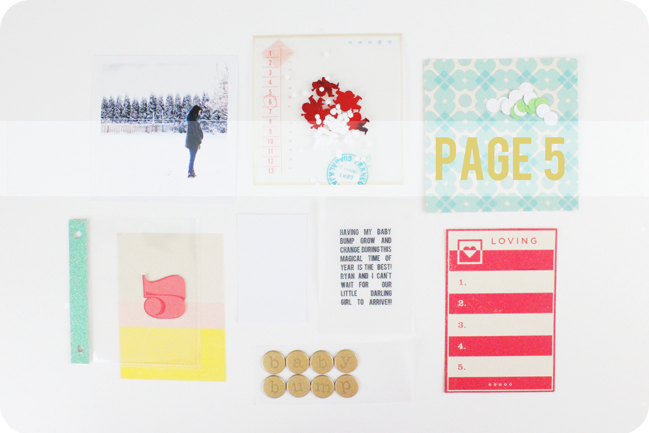 custom pocket pages tutorial with carrie elias @ shimelle.com