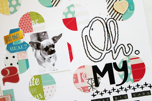 five idea for scrapbooking with creative titles by gina lideros @shimelle.com