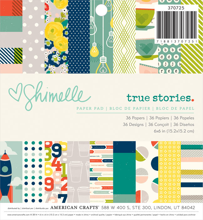 true stories collection - scrapbooking & paper craft supplies from shimelle and american crafts