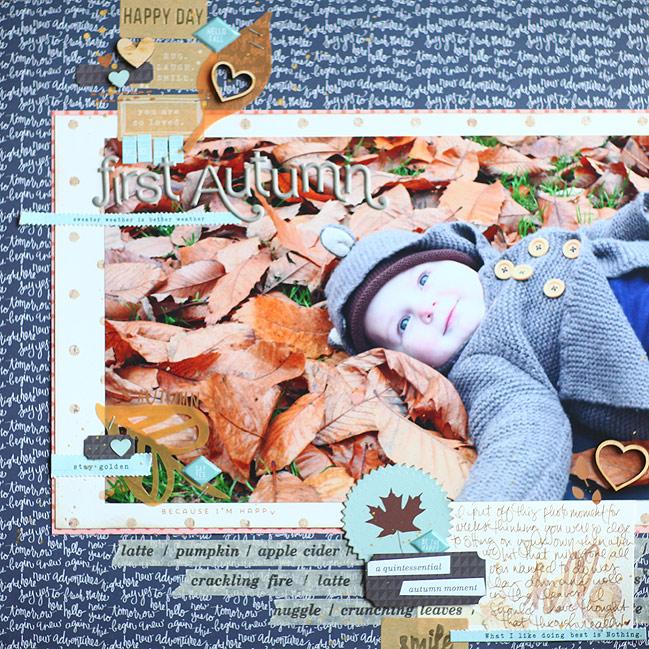 scrapbook page by shimelle laine @ shimelle.com