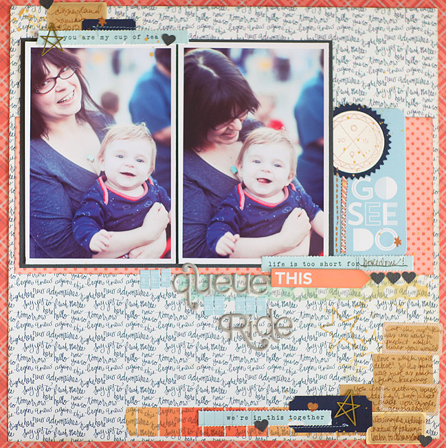 disney scrapbook page by shimelle laine @ shimelle.com