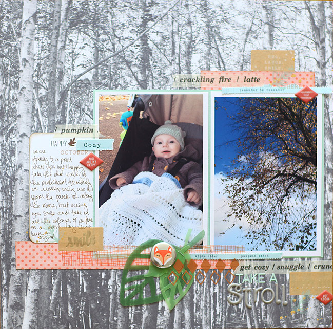 scrapbook page by shimelle laine @ shimelle.com * post includes video