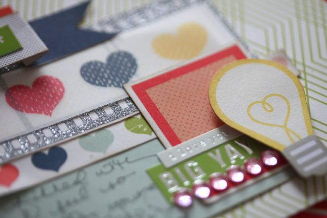 online scrapbooking class from shimelle laine