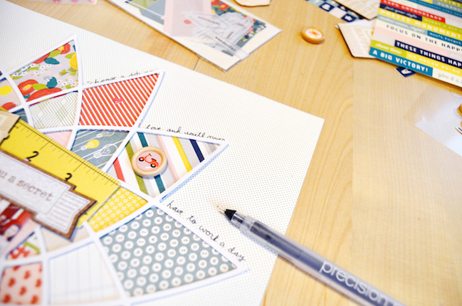 die cut shapes using the true stories collection with paige evans @ shimelle.com