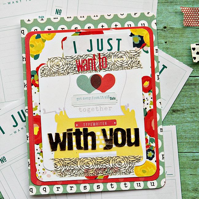 5 things with the true stories phrase roller Stamp and notepad with alissa fast @ shimelle.com