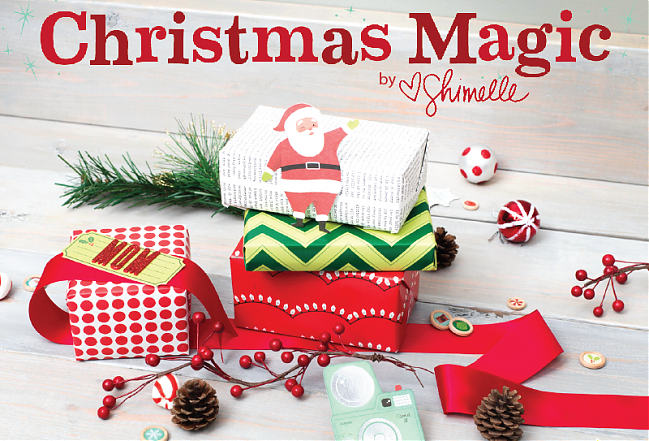 Shimelle Christmas Magic Collection from American Crafts @ shimelle.com - Christmas 2015